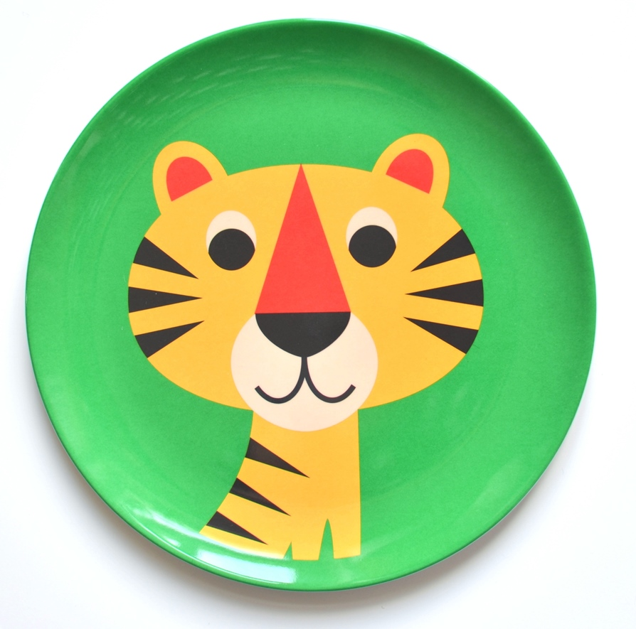 Plate Tiger