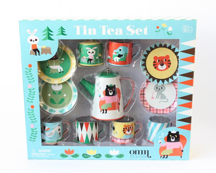 Tin Tea Set