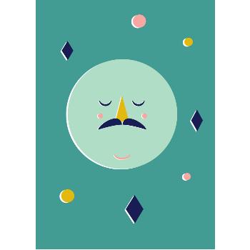 Confetti Moon