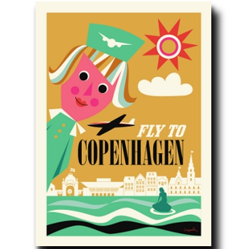 Fly to Copenhagen