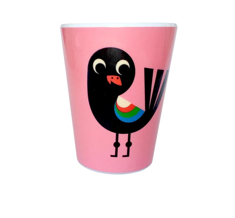 Tumbler Bird pink