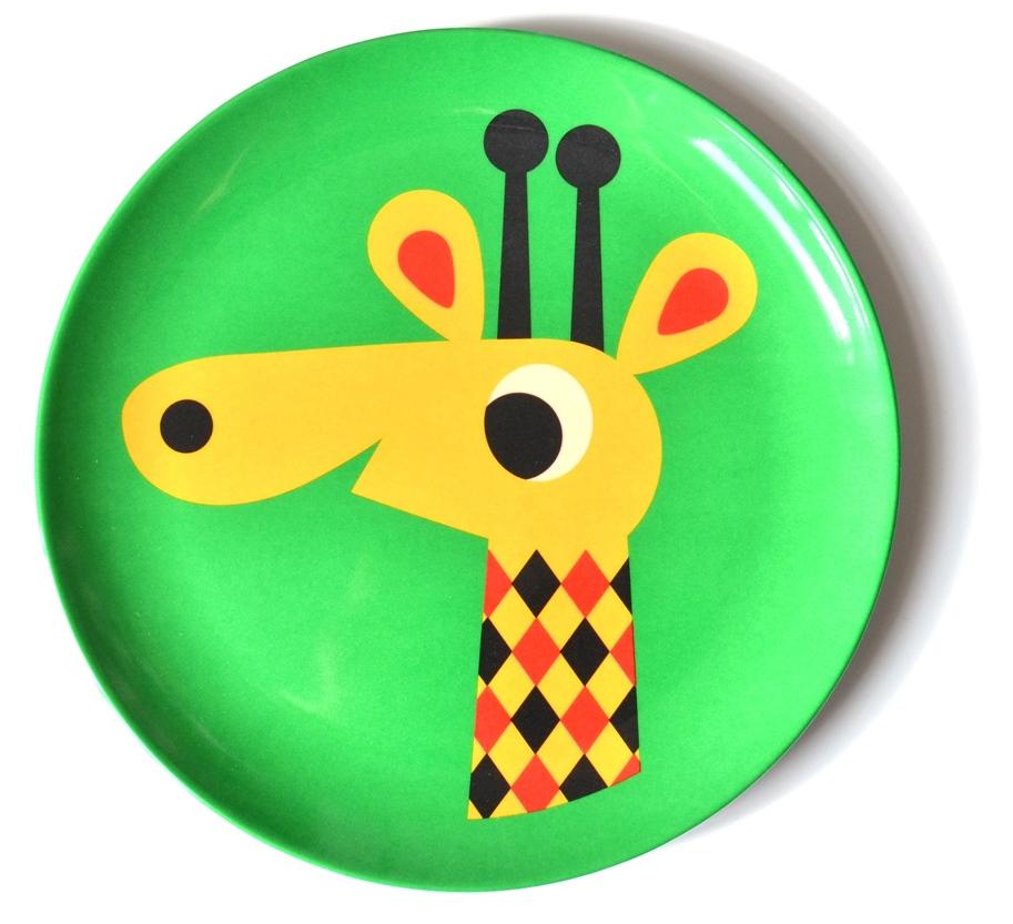 Plate Giraffe