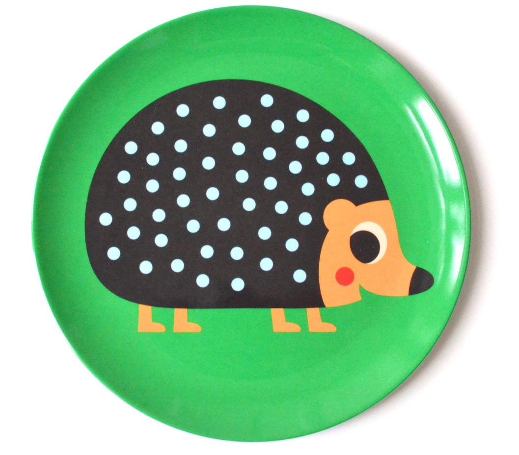 Plate Hedgehog