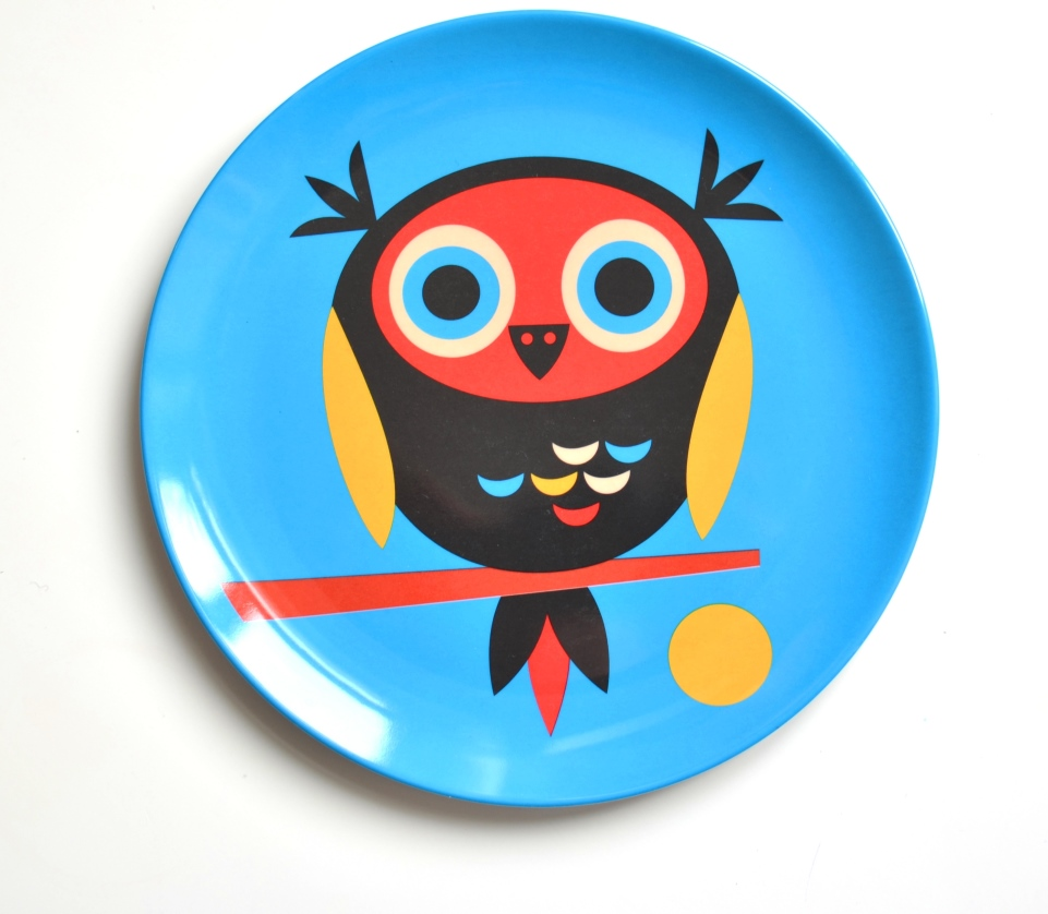 Plate Owl