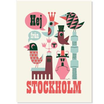 Hej från Stockholm