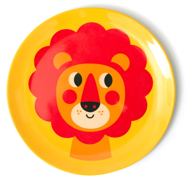 Plate New Lion