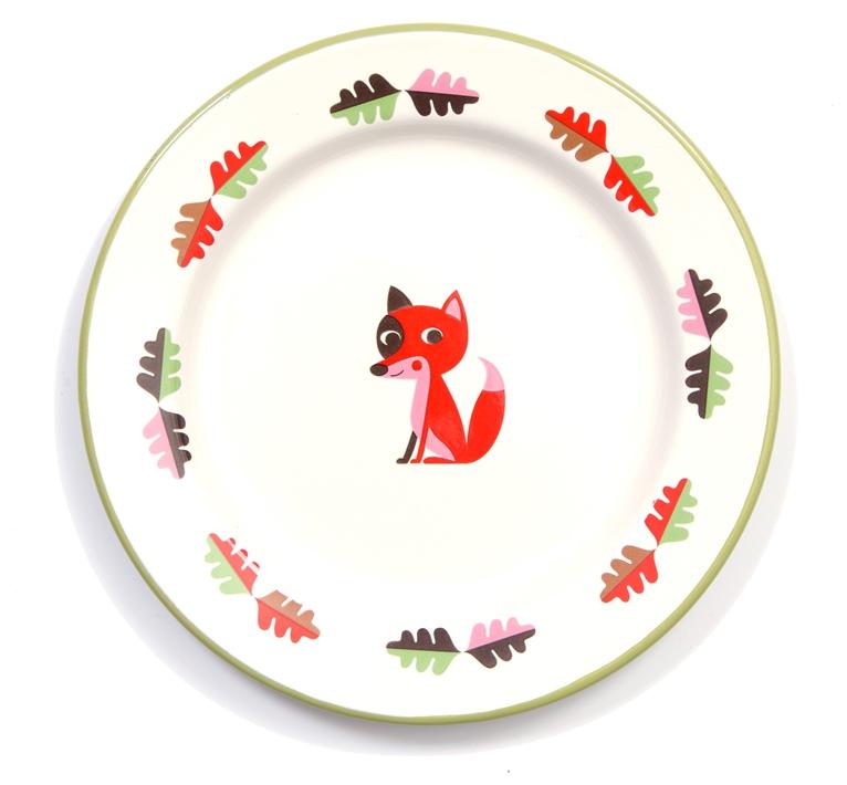 Plate Fox