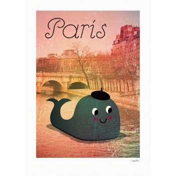 Whale in Paris