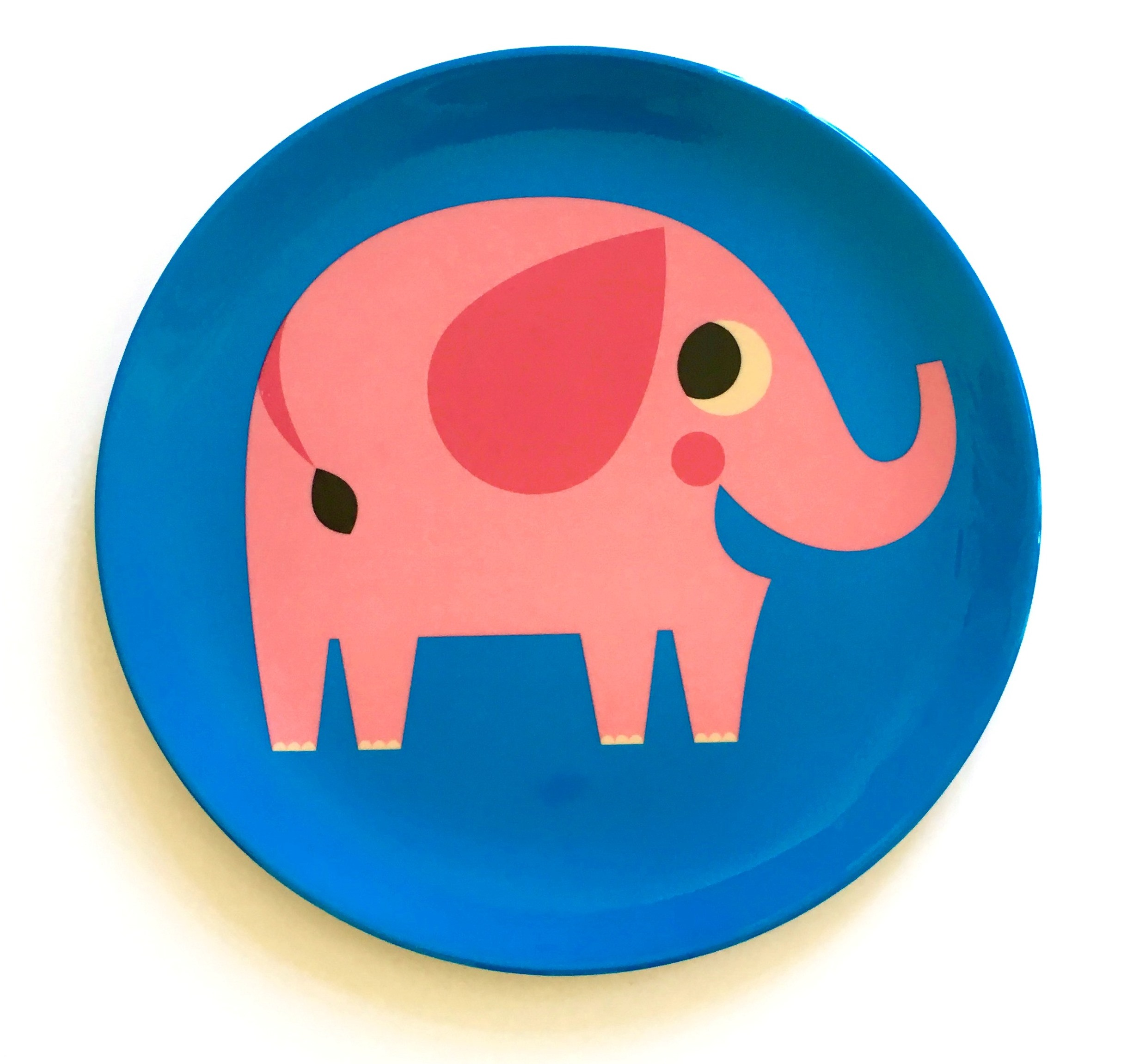 Plate Elephant