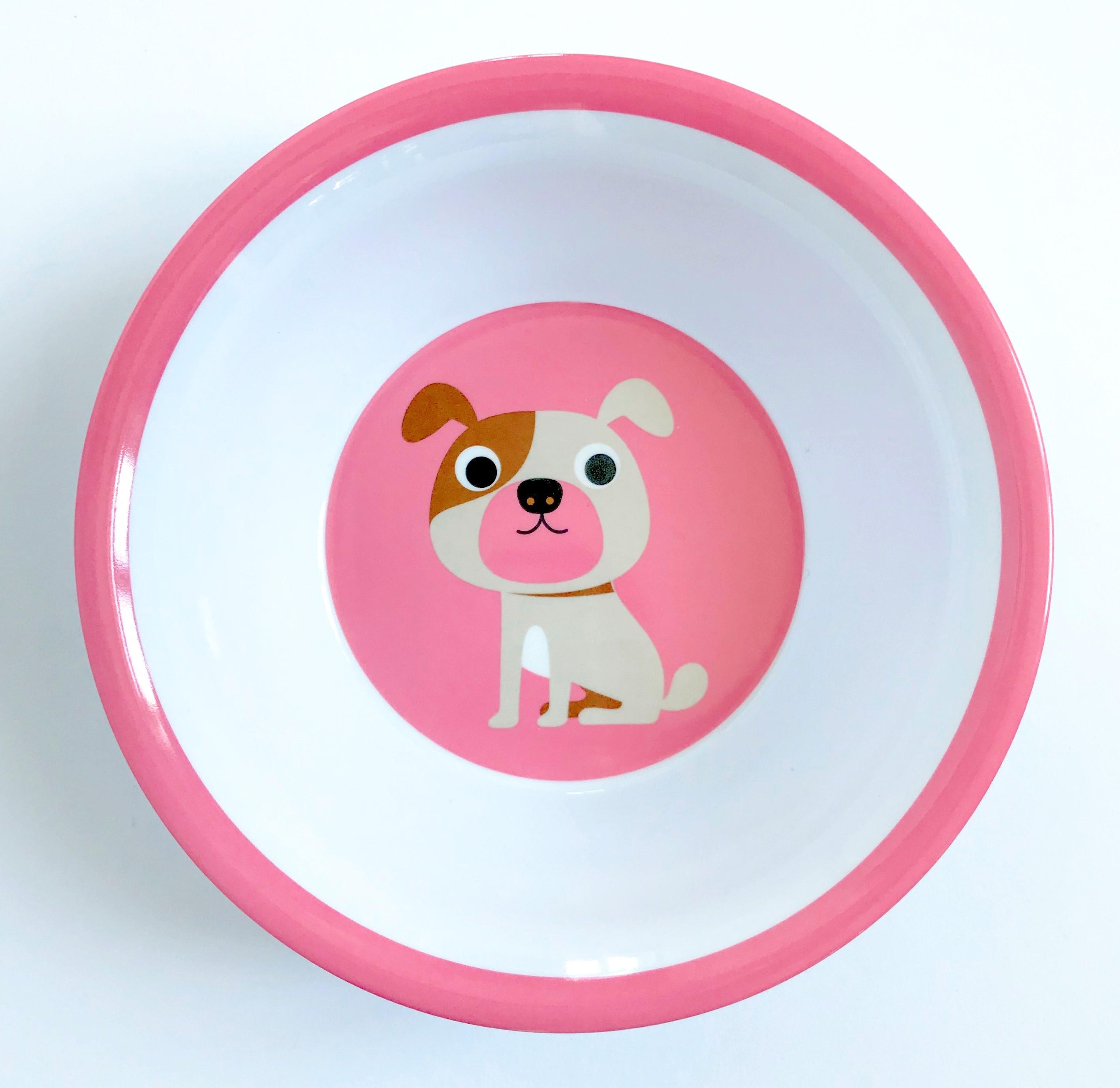 Bowl Dog Pink