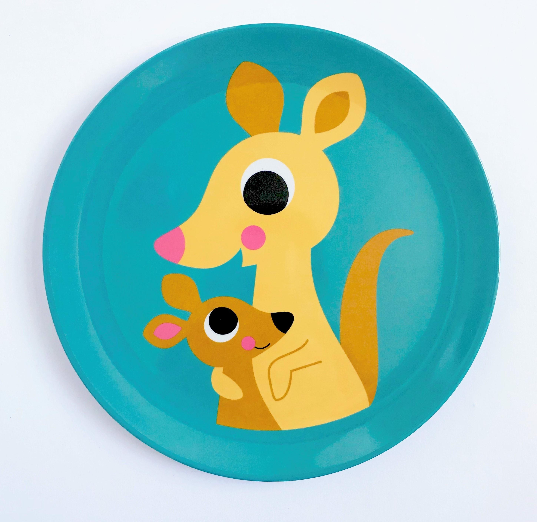 Plate Kangaroo