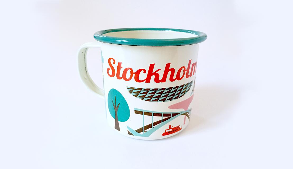 Mug Sthlm Turquoise