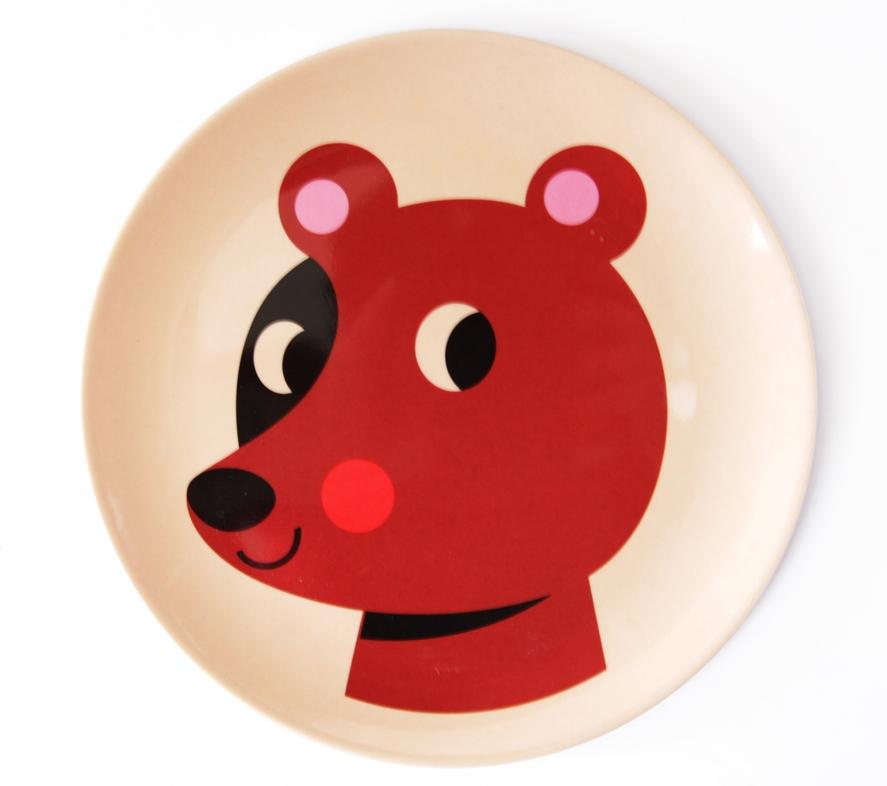 Plate Bear