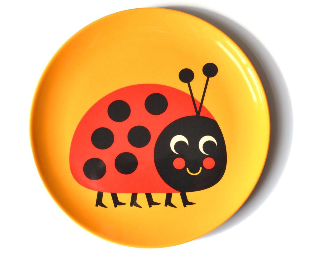 Plate Ladybug