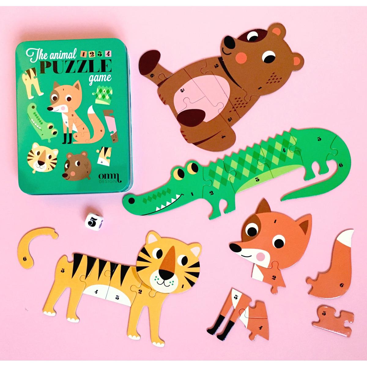 Animal Dice Puzzle game