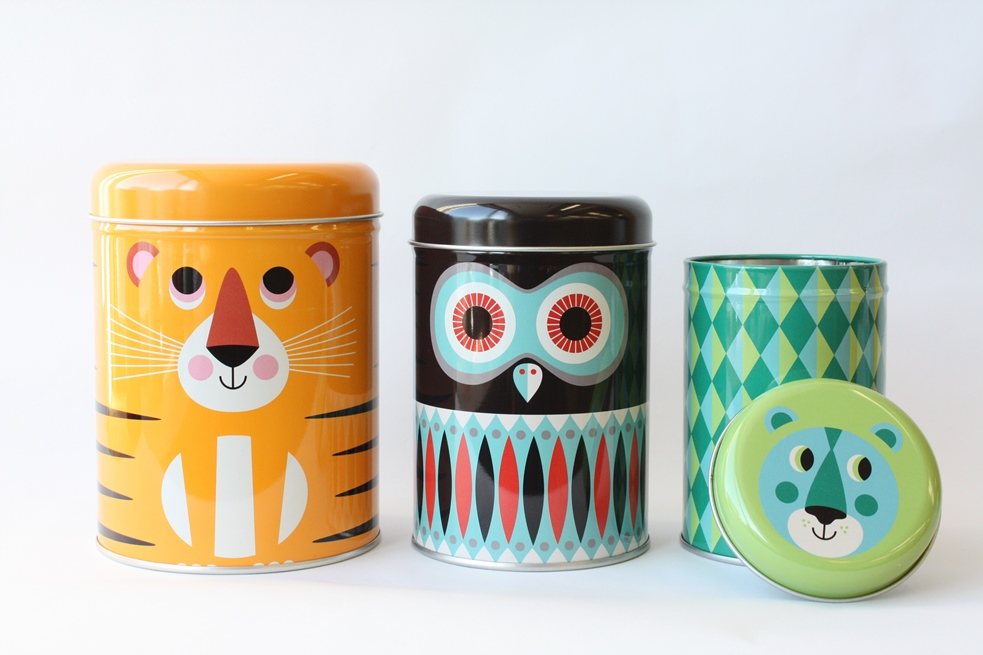 Canisters Animals