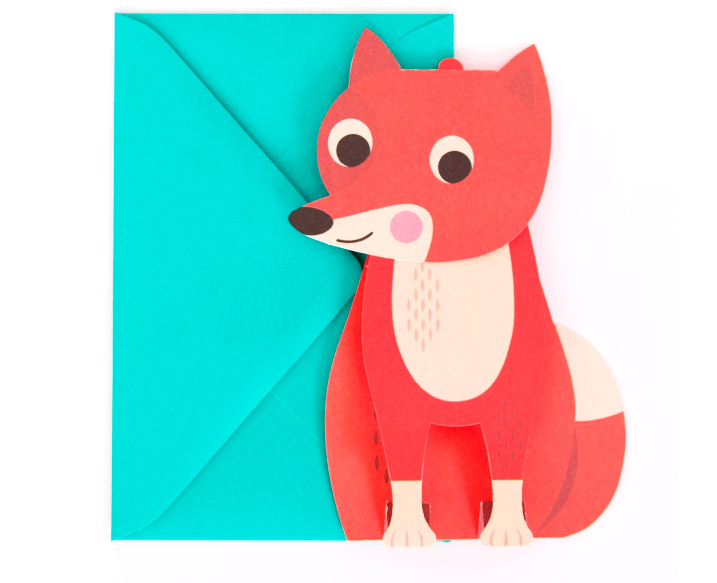 Fox 3D Card