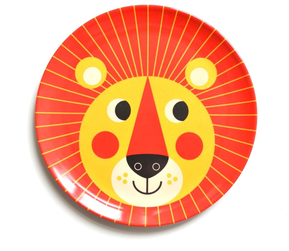 Plate Lion