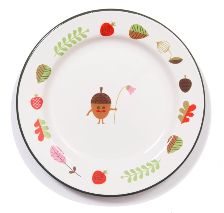 Plate Acorn