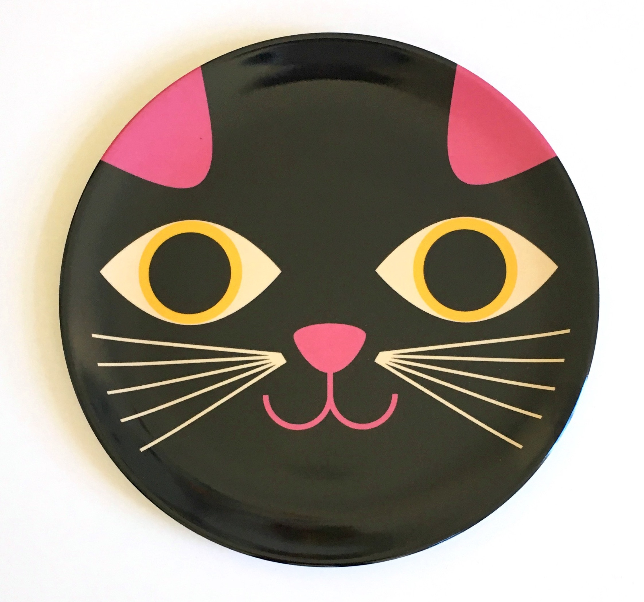 Plate Cat Face