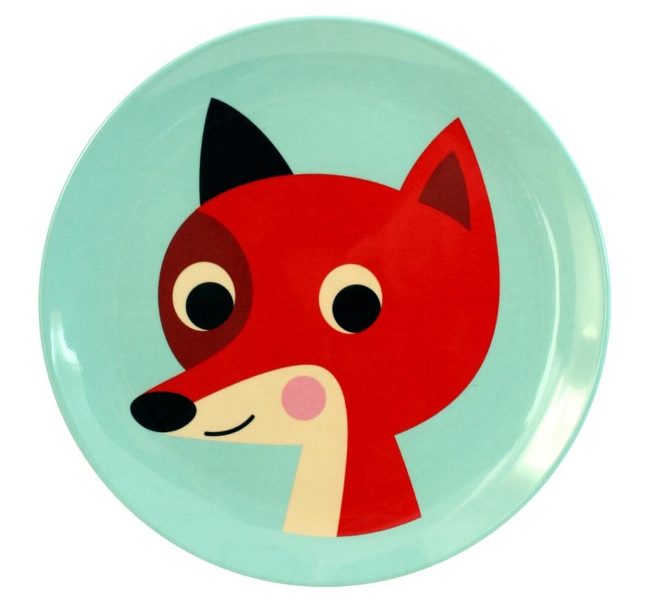 Plate Fox Mint