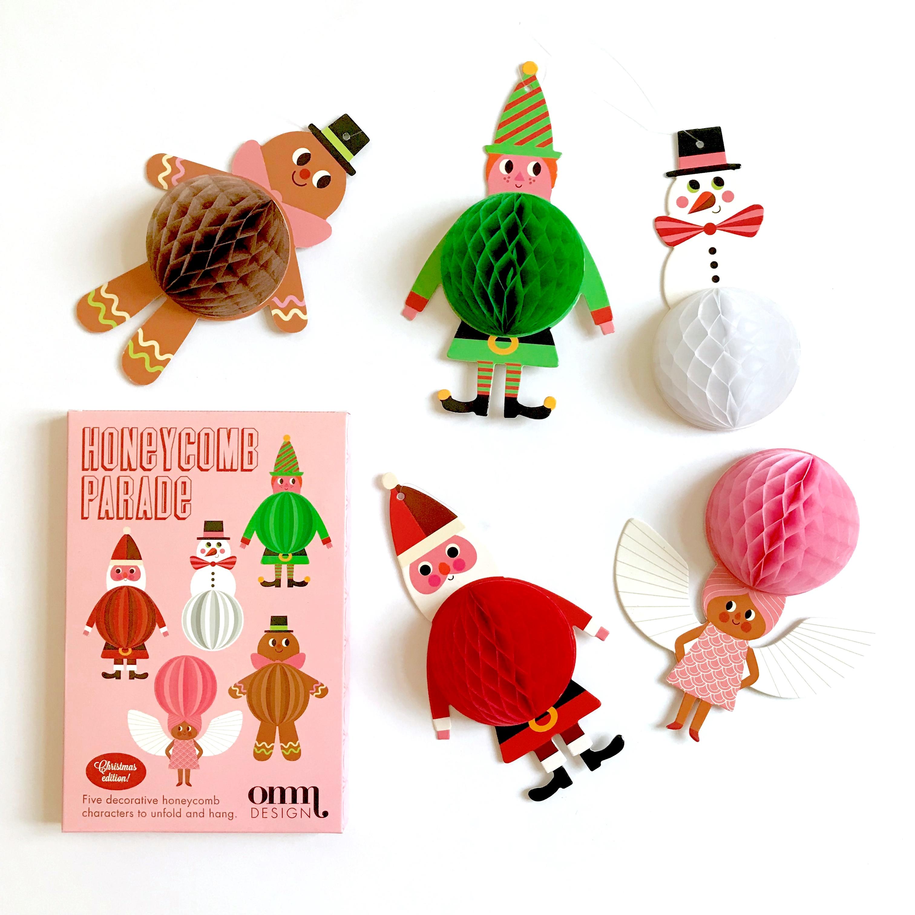 Honeycomb Parade - Christmas Edition