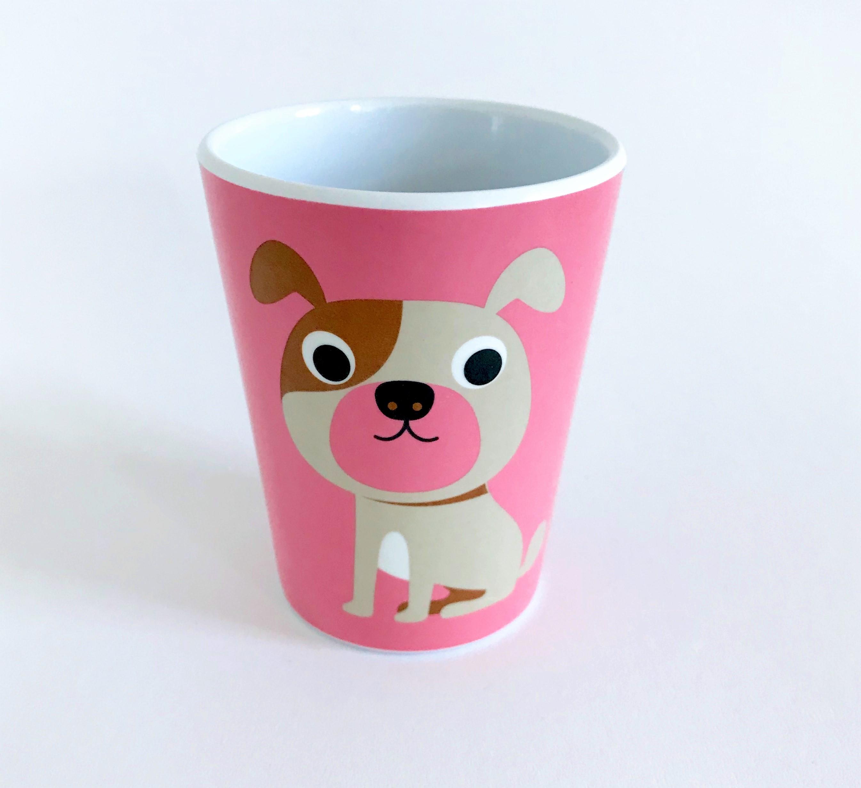 Tumbler Dog Pink